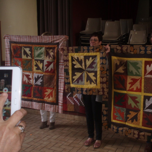 Quilting Bee octobre 2016